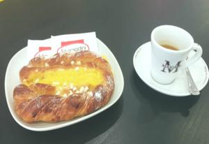 Brioche e caffé del Bar de L'EMPORIO delle Idee